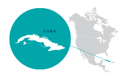 Cuba Us Cuba Cooperative Working Group Usccwg Ncba Clusa - Map-of-us-and-cuba