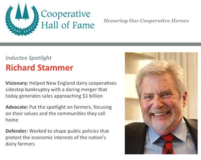 Hall of Fame inductee spotlight: Richard Stammer - NCBA CLUSA