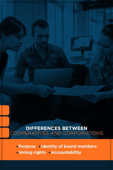 Differences Between Cooperatives and Corporations