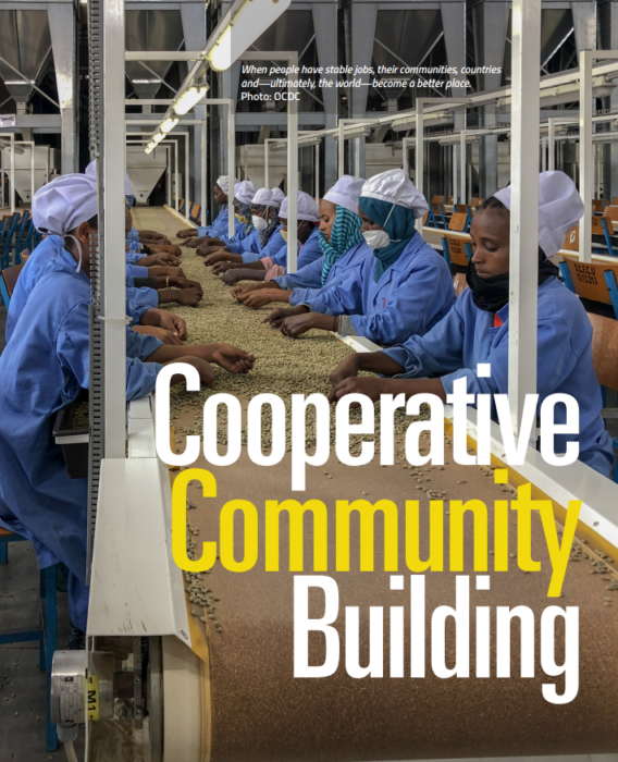 Cooperative Community Building
