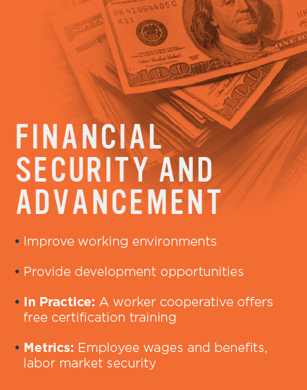 Financial Security and Advancement