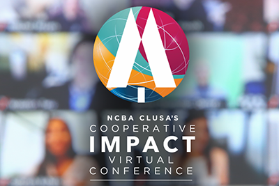 Image features the Cooperative IMPACT Conference logo against a Zoom backdrop.