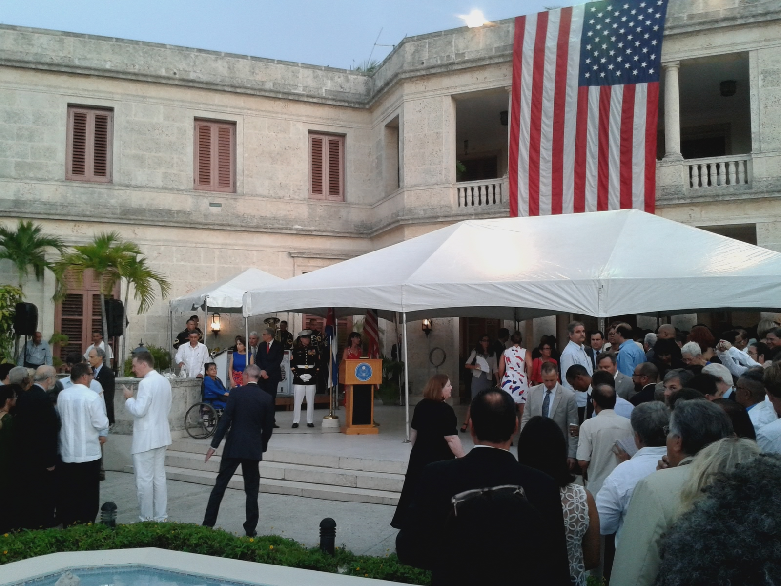 July4th celebration US ambassador residence5