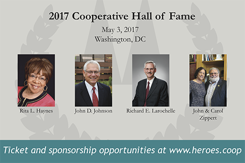 Tickets to attend this year's Cooperative Hall of Fame dinner and induction ceremony are still available!