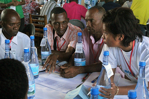 Co-op leaders from across Madagascar participate in the Cooperative Leadership Event earlier this year.