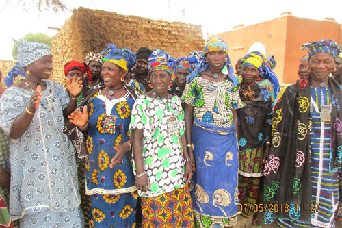 "The women of the Kumtal Haaju savings and loan group chose their name because it means they ""solve problems."""