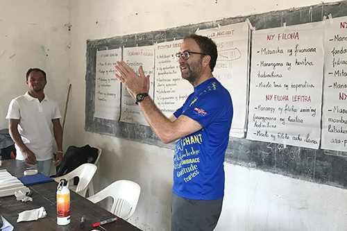 Tune in to Everything Co-op this Thursday for a conversation with Adam Schwartz. Here, Adam leads a training with members of the Mirary Soa Co-op in Madagascar.