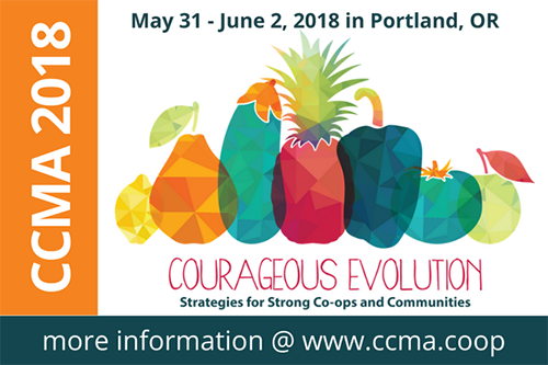 Food co-ops will explore how to maintain relevance in an increasingly crowded market at the 2018 CCMA Conference.