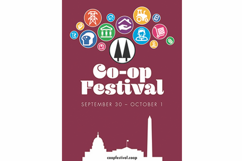 Co-op Festival will be held September 30 – October 1, 2017 on the grounds of the National Mall in Washington, D.C.