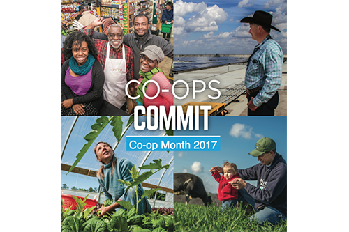 Find Co-op Month logos, customizable posters and social media resources online now!