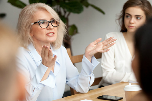 Not only are women more likely to find top management opportunities at credit unions, there is also no evidence for a gender pay gap within cooperative finance. [photo: CU Insight]