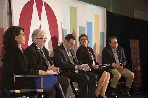 Panelists discuss the role U.S. cooperatives have—and could—play in international development.