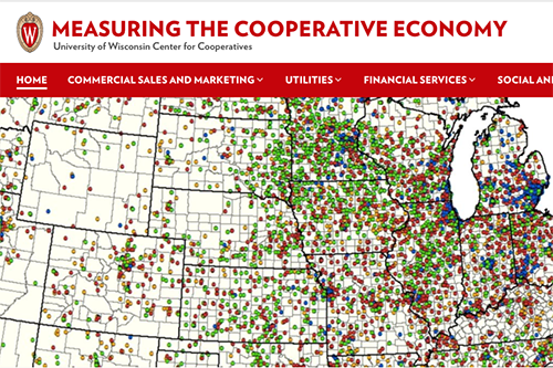 The UW Center for Cooperatives' new website is a hub for baseline numbers critical to measuring the economic footprint of co-ops.