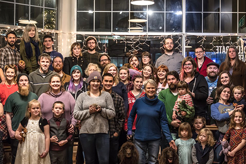 Of Rock City's 30 employees, 17 chose to become worker-owners. [photo courtesy Rock City Coffee]