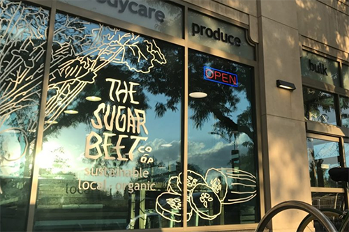 Sugar Beet Food Co-op is a neighborhood source of local, sustainable and healthy foods. [photo: Co-operative News]