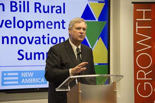 Cooperatives can be a big part of revitalizing rural America, Vilsack said.