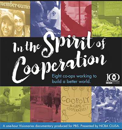"December broadcast dates for ""In the Spirit of Cooperation"" Visionaries documentary now available"